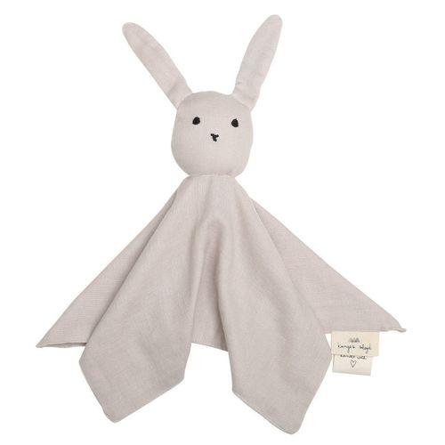 Doudou Lapin Sleepy Rabbit en coton bio Beige