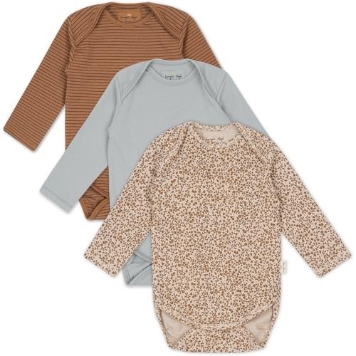Pack de 3 bodys bébé en coton bio Konges Sløjd