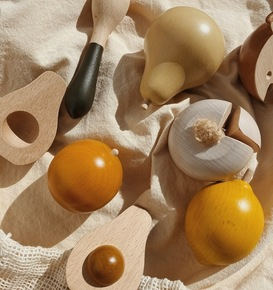 Fruits et légumes en bois Konges Slojd
