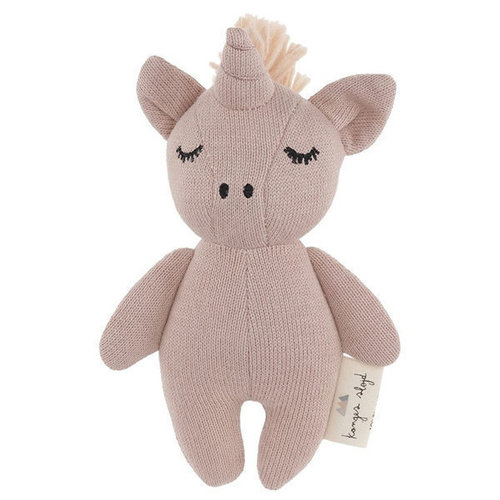 Doudou Unicorn mini Konges Slojd