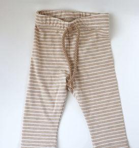 Legging Brown Stripes
