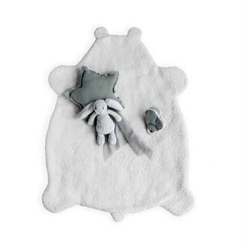 Plaid Teddy mouton Babyshower